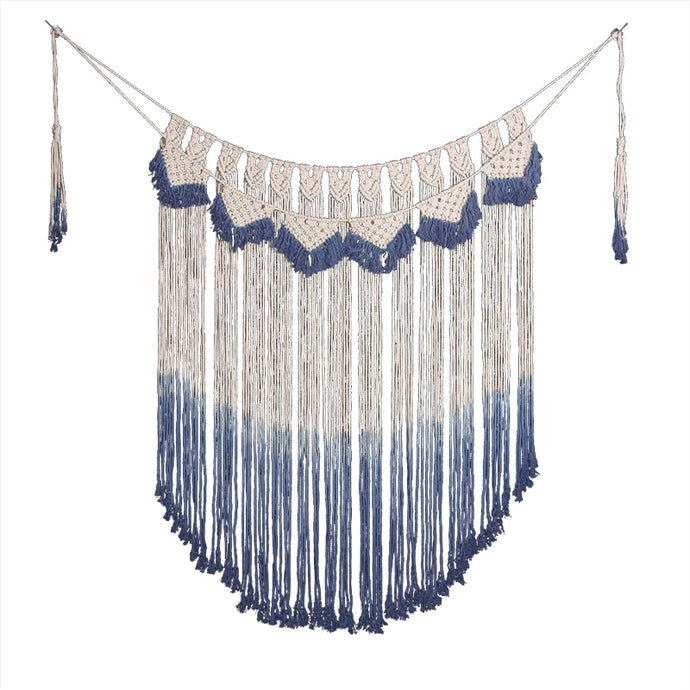 Across the Ocean - Macrame Wall Hanging