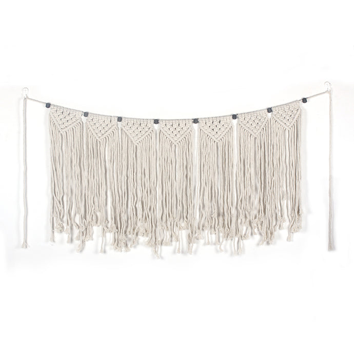 Follow Your Heart - Macrame Wall Hanging/Banner