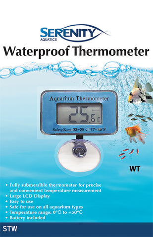 Serenity Waterproof Thermometer