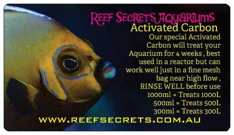Reef Secrets Activated Carbon 1000ml