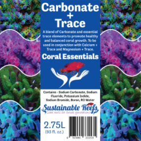Coral Essentials Alkalinity + Trace 2.75L