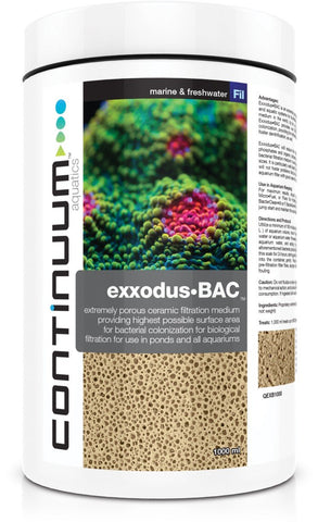 Continuum Exxodus BAC Cubes for Biofiltration 1000ml