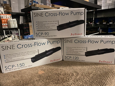 Jebao Cross Flow Pumps