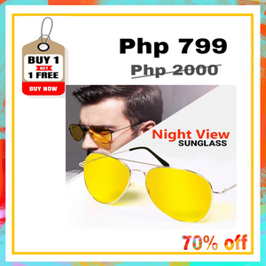 HD Night Vision Anti Glare View Glasses (BUY 1 TAKE 1)