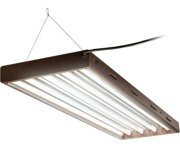 Agrobrite T5 Designer 4Ft 4 Tube Fixture w/ bulbs
