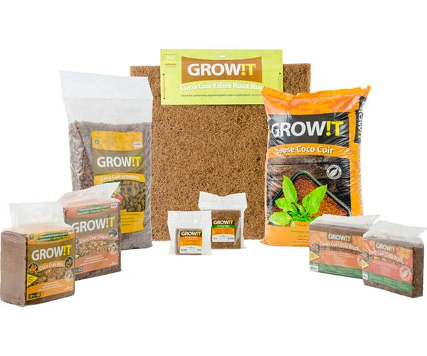 GROW!T Coco Coir Mix Brick, pack of 3