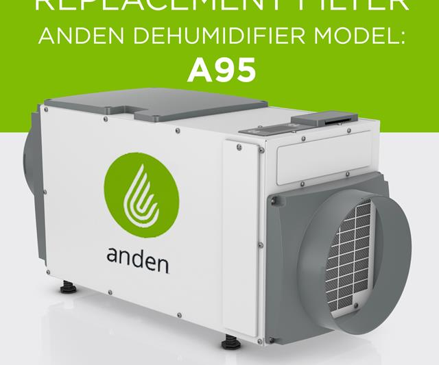 Anden 5771 Replacement filter for Anden Dehumidifier Model A95