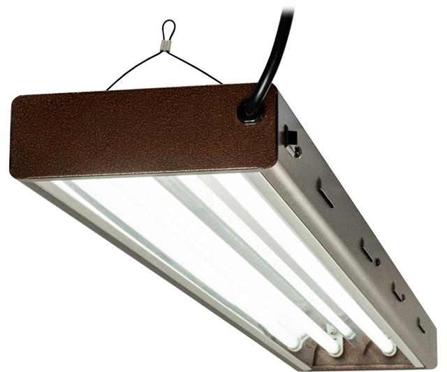 AgroBrite T5 Designer 4ft 2Tube fixture w/Bulbs