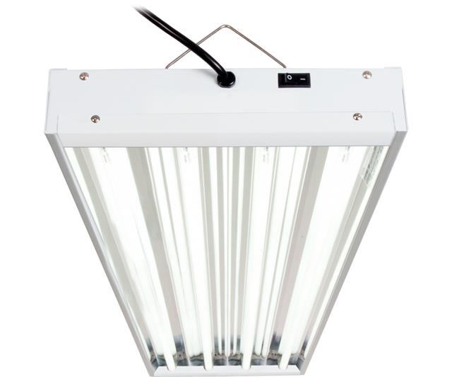 Agrobrite T5 4Ft 4 Tube Fixture w/Bulbs