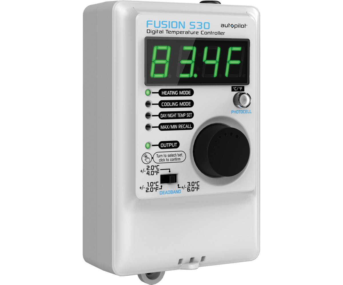 Autopilot FUSION S30 Digital Temperature Controller - Day/Ni