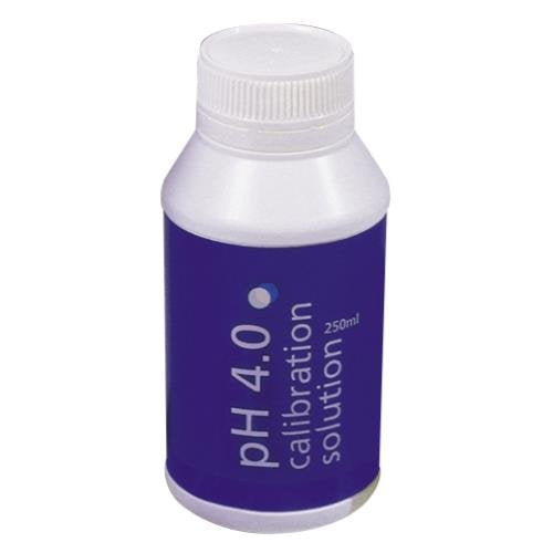 Bluelab Ph 4.0 Calibration Solution 250ml (case of 6)