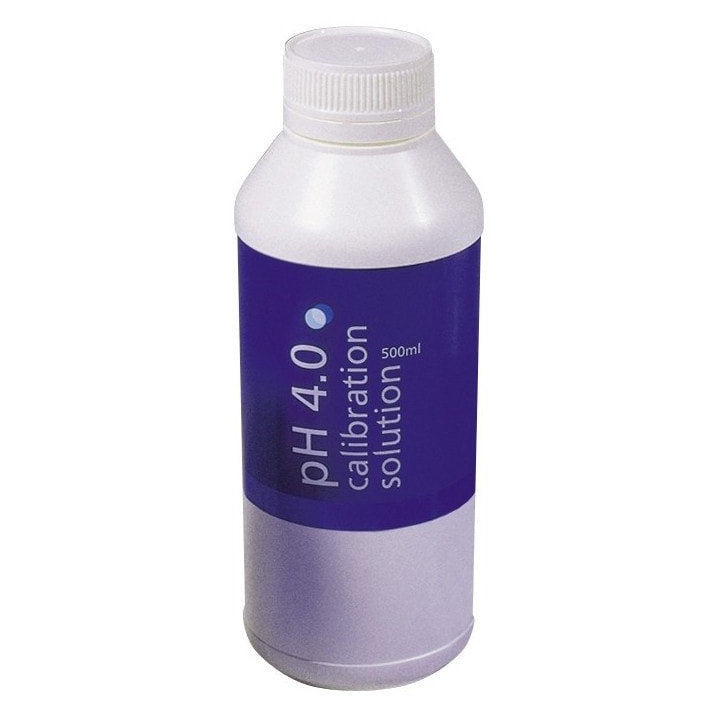 Bluelab Ph 4.0 Calibration Solution 500ml (Case of 6)