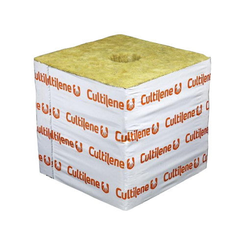 "Cultilene 4"" x 4"" x 4"" Rockwool Block (144 pieces per case)"