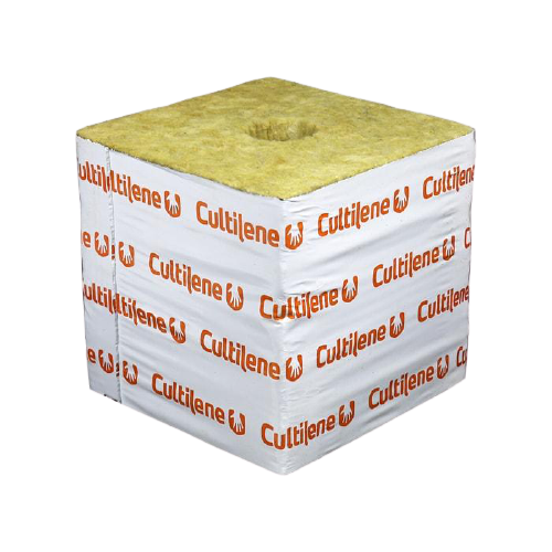Cultilene 6x6x6 Block w/ Optidrain (48 pieces per case) Cultiwool