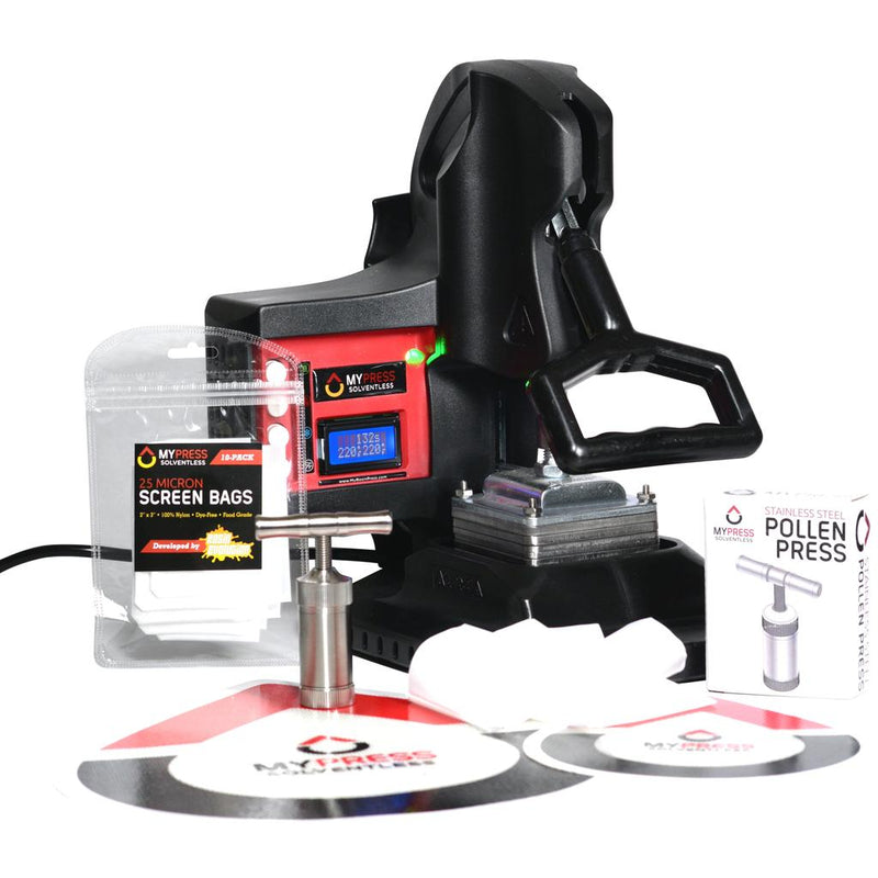 MyPress Gen 2 Manual Rosin Press Deluxe Kit