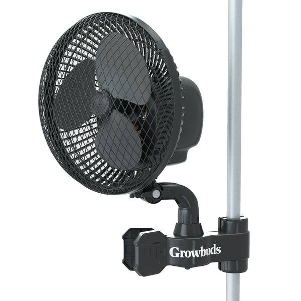 Oscilating clip fan