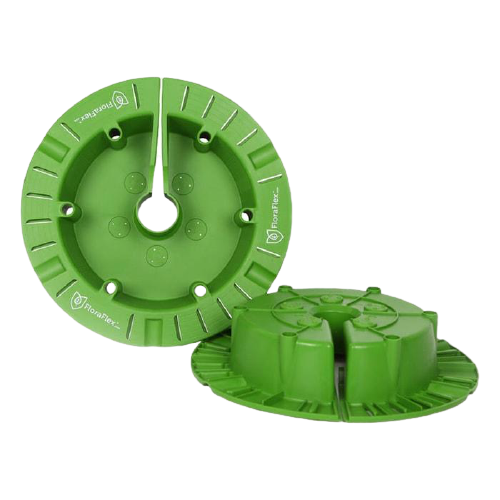 FloraFlex Round Flood & Drip Shield Round/Quicker 9'' - 12''