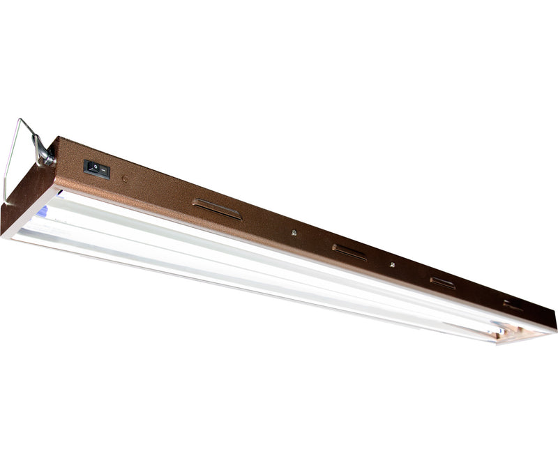 T5 Designer 4ft 2Tube fixture w/Bulbs