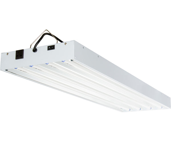 T5 4Ft 4 Tube 240V Fixture w/Bulbs