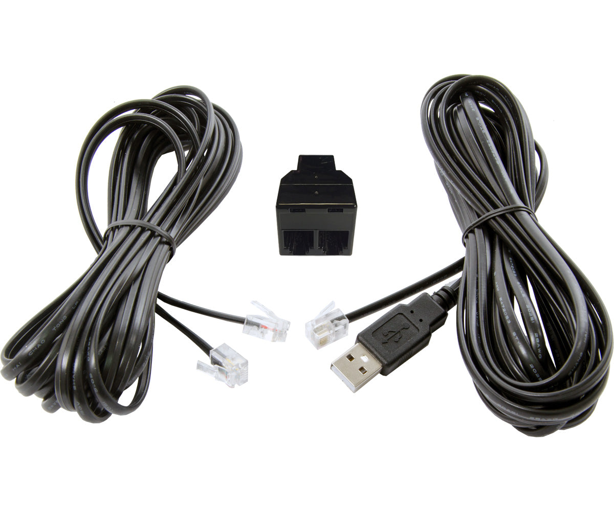 Autopilot Phantom 15' USB-RJ12 Controller Cable Pack