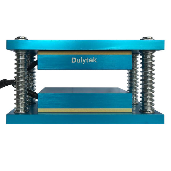 "Dulytek® Retrofit Rosin Heat Caged Plate Kit, 3"" X 6"" Food-Grade Anodized Aluminum Plates, For 10 - 20 Ton Shop Presses"