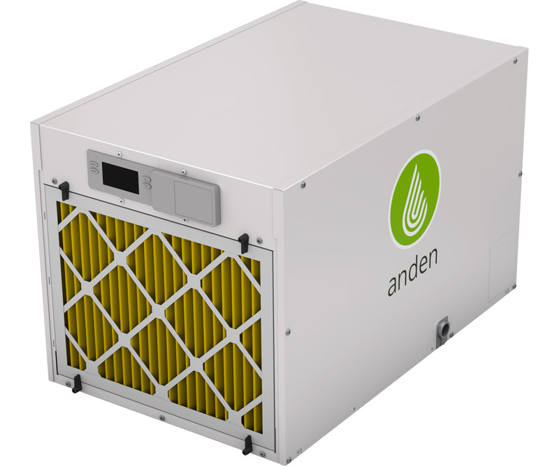 Anden Grow-Optimized Industrial Dehumidifier A210, 210 Pints/Day 240v