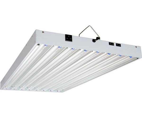 AgroBrite T5 4Ft 8 Tube 240V Fixture w/Bulbs