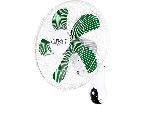 "Active Air 16"" Wall Mount Oscillating Fan"