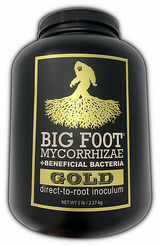 Big Foot Gold with Beneficial Bacteria