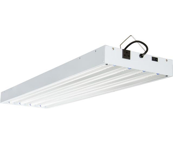 AgroBrite T5 4Ft 4 Tube 240V Fixture w/Bulbs