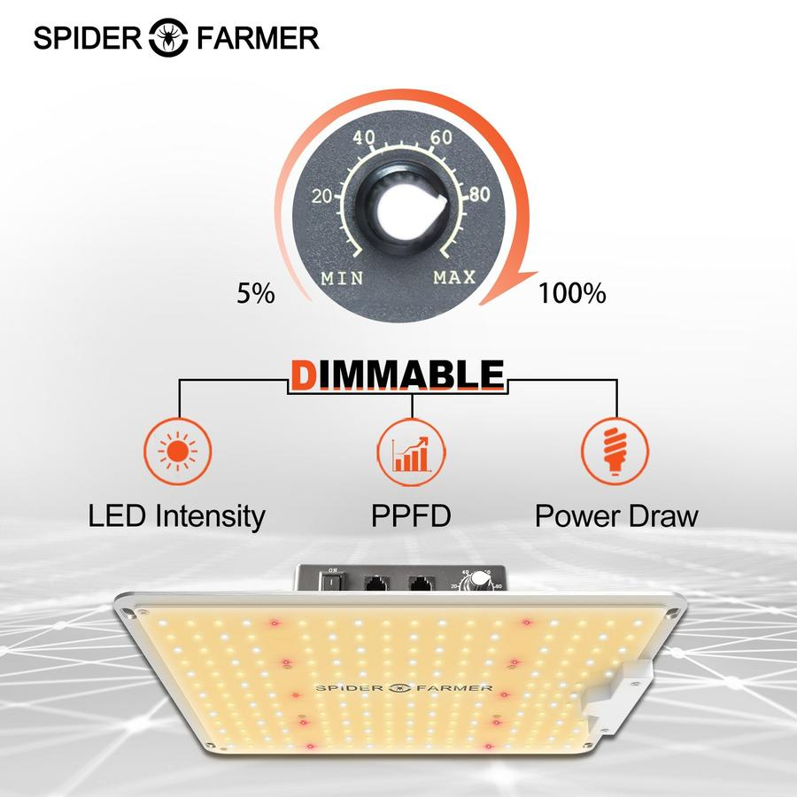 Spider Farmer SF 1000 know features