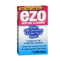 EZO  Denture Grip Lower Heavy 15ct 3-pack