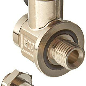 EZ OIL DRAIN VALVE FOR DRAIN PLUG SIZE M14 - 15 and Removable Hose End-Small Body Straight