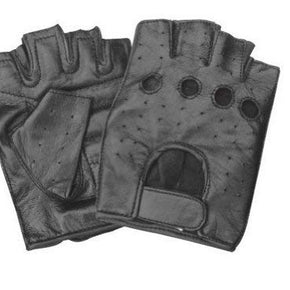 Leather Fingerless Gloves 2XL
