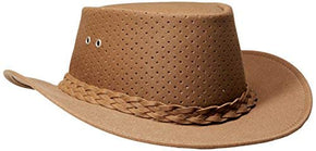 Perforated Bushies - Camel - L