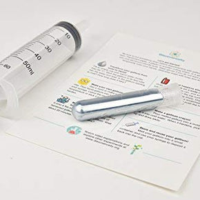 Discoverosity - Gallium 50 gram-label-syringe