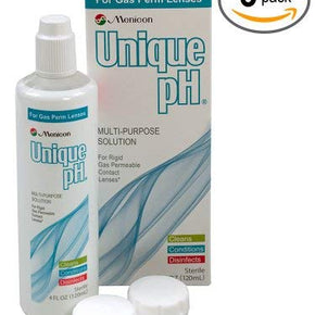 Menicon Unique pH 4 floz - 3 Pack