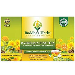 Buddhas Herbs Dandelion Root Tea 4 Packs 88 Tea Bags