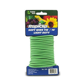 Rapiclip Soft Wire TieGreen Light Duty