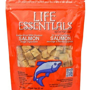 Life Essentials Freeze Dried Salmon - 5 oz size - 3 Pack