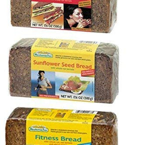 Fitness Whole Rye Sunflower Seed Breads 1 176 oz each