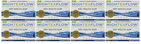 MighTeaFlow Dry mouth Gum Tray 8 packs10 pcspack 80 pcs total Spearmint