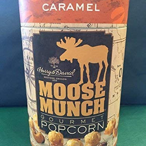 Moose Munch Canister Caramel 10 oz Oregon T