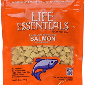 Life Essentials Freeze Dried Salmon - 5 oz size
