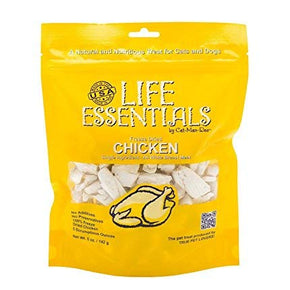 Life Essentials Freeze Dried Chicken - 5 oz size - 6 Pack
