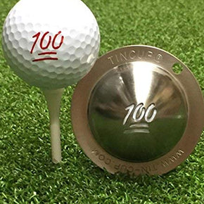 Tin Cup Golf Ball Custom Marker Tool - Max Effort