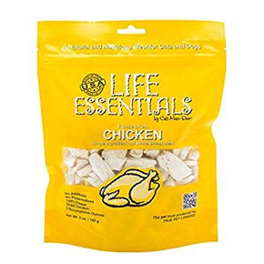 Life Essentials Freeze Dried Chicken - 5 oz size - 2 Pack