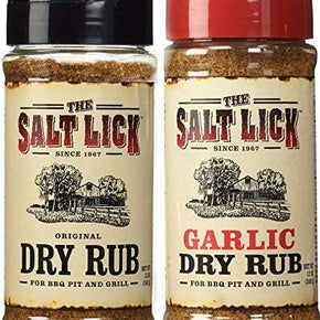 Original Dry Rub and Garlic Dry Rub