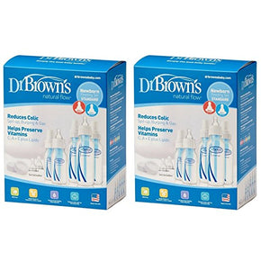 Dr. Brown's Original Bottle Newborn Feeding Set (2 Sets)