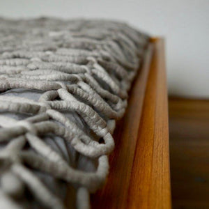 This throw adds the perfect delicate touch to your home, while still being camouflaged enough to blend in with the background. The interlaced threads capture the heat on a cold winter day, whilst also allowing ventilation during hot summer days.